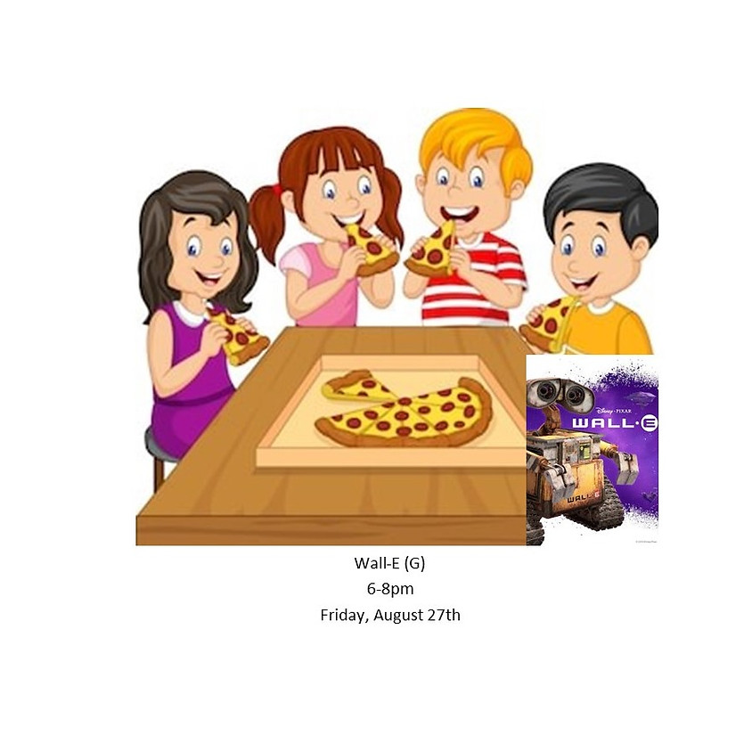 Kids Only Movie Night Pizza Party 8/27