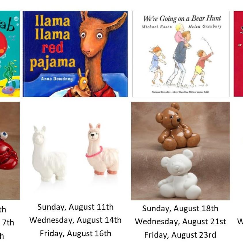 August Read & Paint