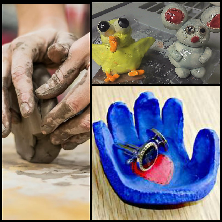 Clay Hand Building Grades 4 and Up