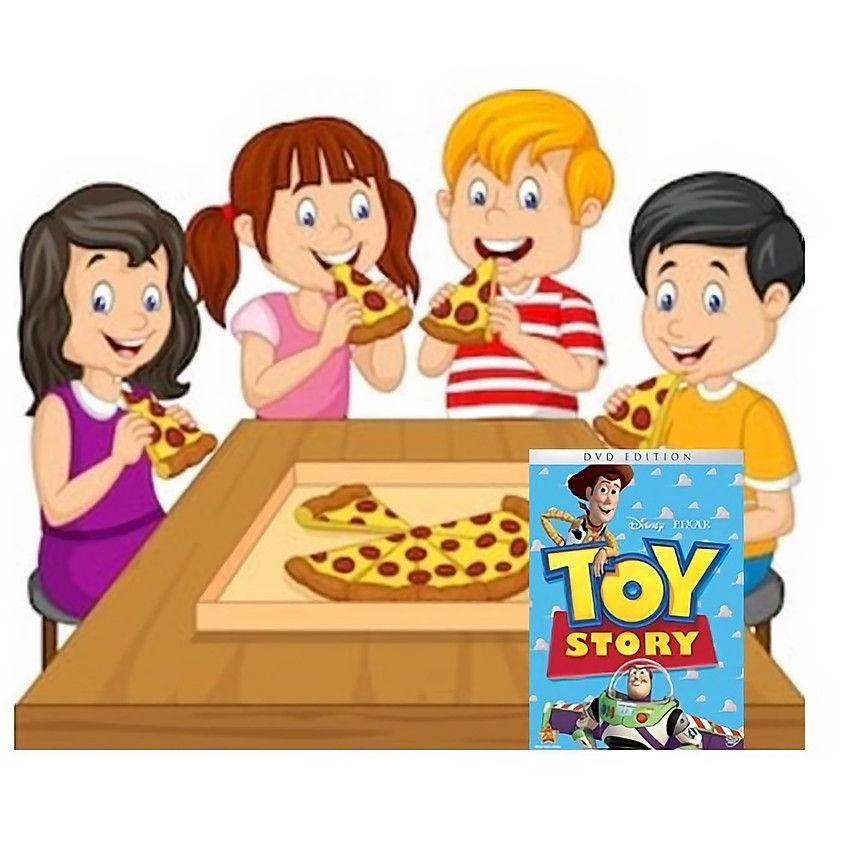 Kids only Pizza Party January 8th