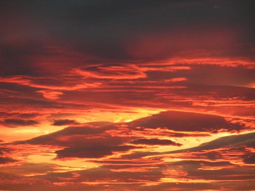 Lava Flow Sky