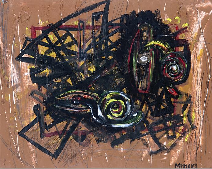 Snails In Her Eyes by Mizuki Nishiyama