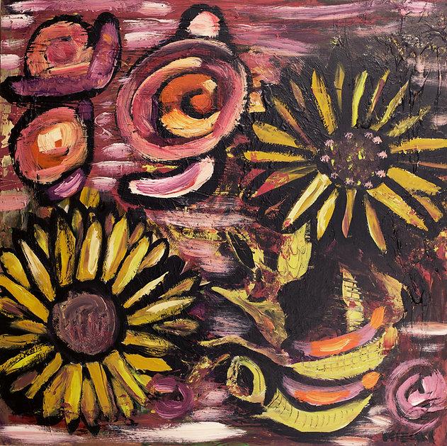 Sunflowers Dream by Mizuki Nishiyama