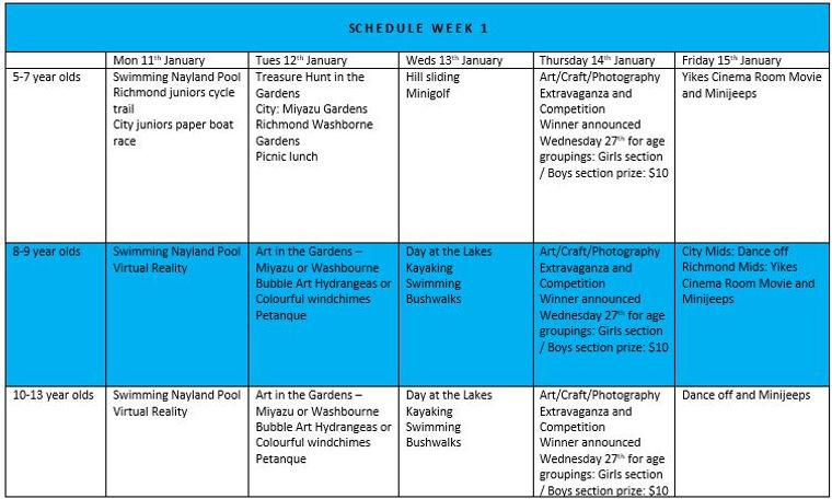 Schedule Week 1 January 2021.JPG