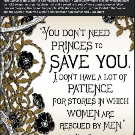 It's okay to be a Princess that needs Saving