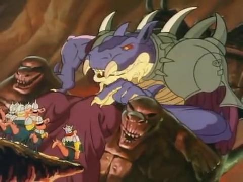Zordrak and his minions, the Urpneys