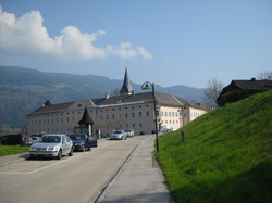 The monastery in Ossiach