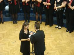 Choir handover