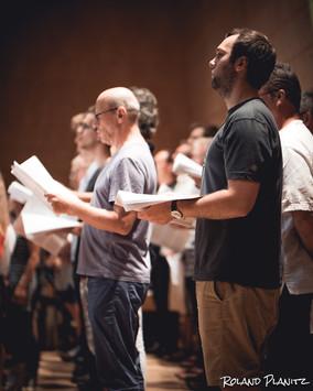 Men from APC Choir