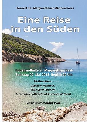 Konzert Margarethener Männerchor mit Rahela Duric