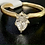 Thumbnail: 14k Yellow Gold Solitaire  Pear Shape