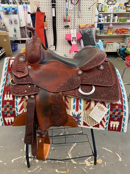 "Tim Piland 16"" Reining Saddle"