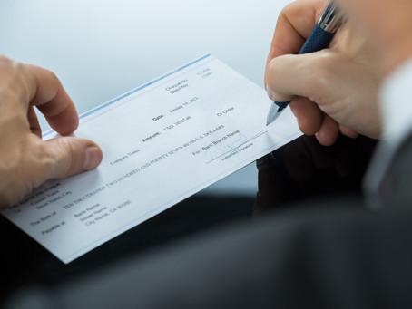 Αναστολή προθεσμιών για επιταγές και συναλλαγματικές