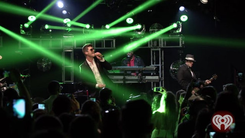 LIVE MUSIC - Robin Thicke -at IHeart Radio NYC