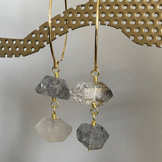 Quartz Crystal Earrings #6