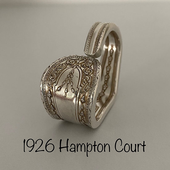 '1926 Hampton Court' Silver Spoon Handle Heart