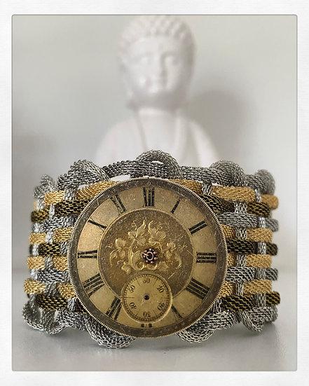 Antique Watch Face Cuff (A)