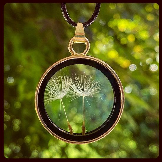 Make a Wish Glass Locket