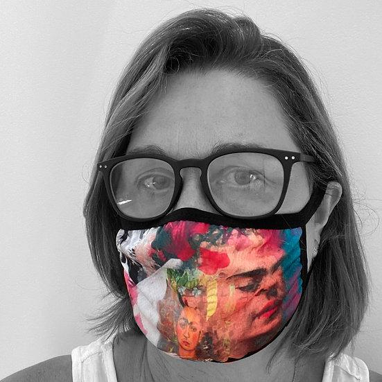 Frida Collage Face Mask