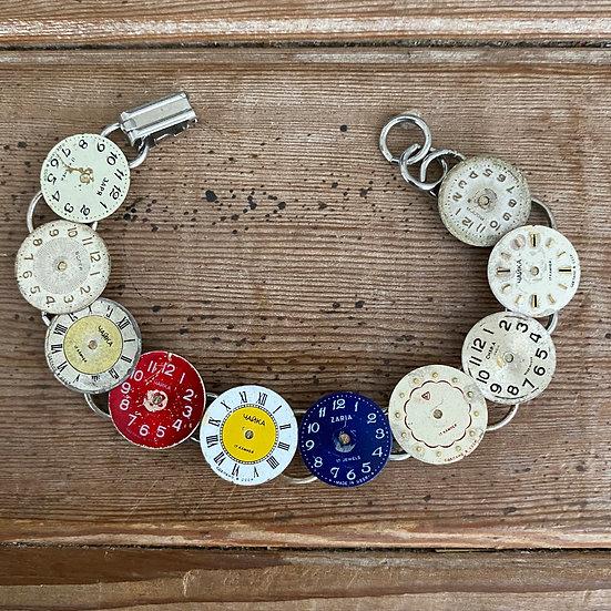 Vintage Watch Face Bracelet (1)