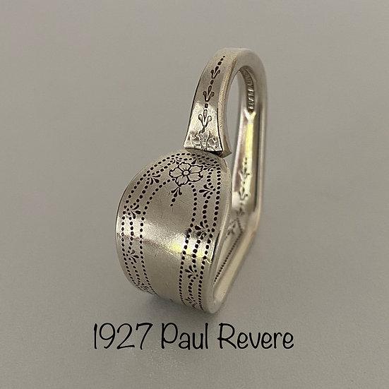 '1927 Paul Revere' Silver Spoon Handle Heart