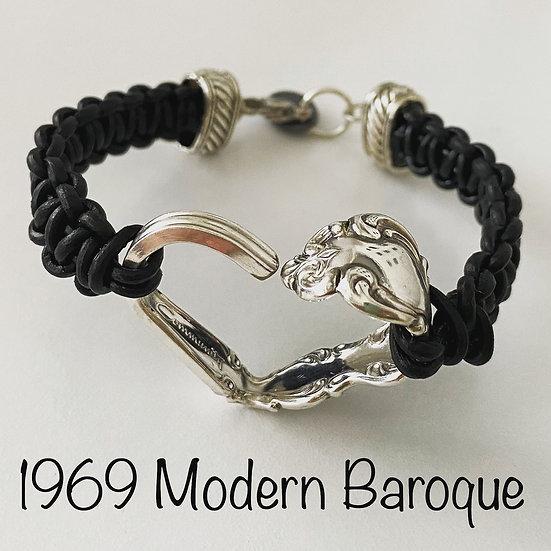 1969 Modern Baroque Vintage Spoon Heart Bracelet