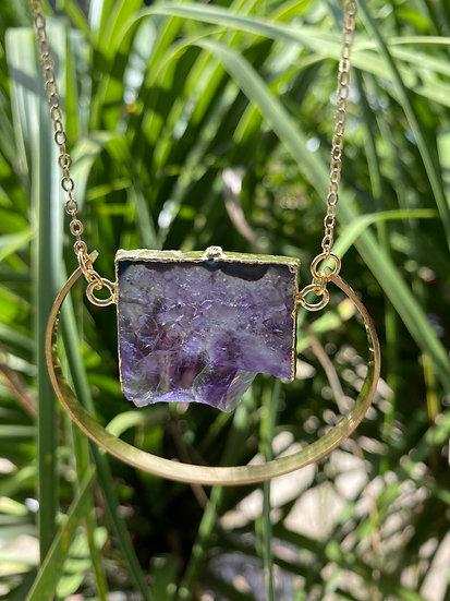 #1 Crystal Slice Necklace