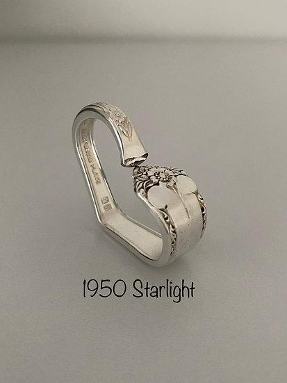 '1950 Starlight' Silver Spoon Handle Heart