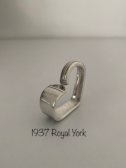 '1937 Royal York' Silver Spoon Handle Heart