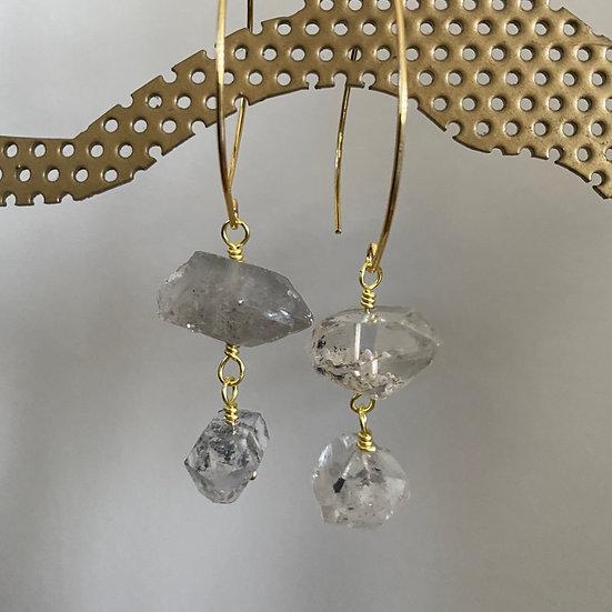 Quartz Crystal Earrings #5