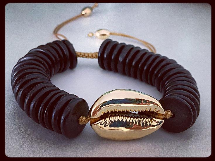 Large Cowrie Shell Bracelet