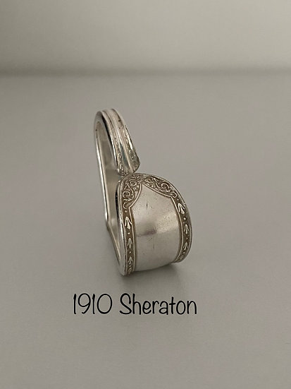 '1910 Sheraton' Silver Spoon Handle Heart
