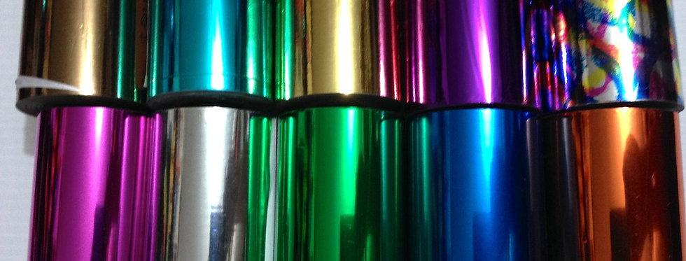 Foil para toner laser               Combo 3 rollos