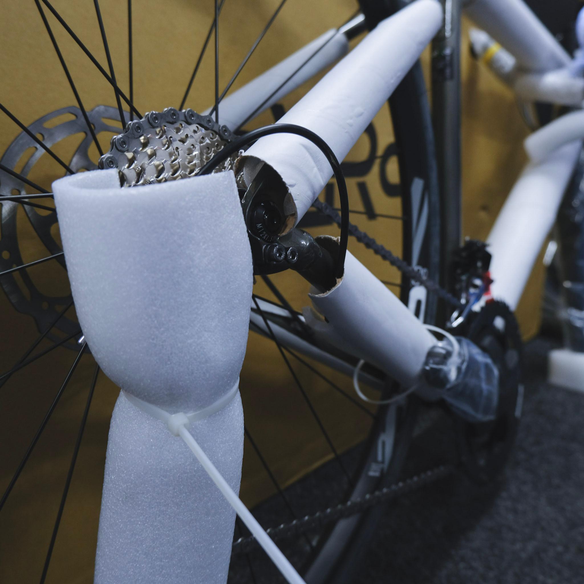 Bike in a box build