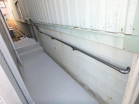 コンクリート工事 段差解消・床材変更