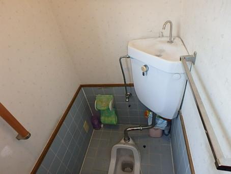 トイレ兼用便器~腰掛け便器リフォーム
