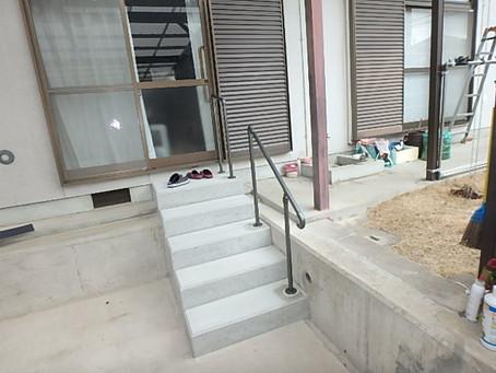段差解消/コンクリート階段