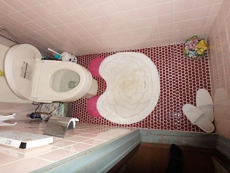 トイレ工事 壁パネル仕上げ
