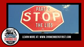 Stop the Lies: Part 2.