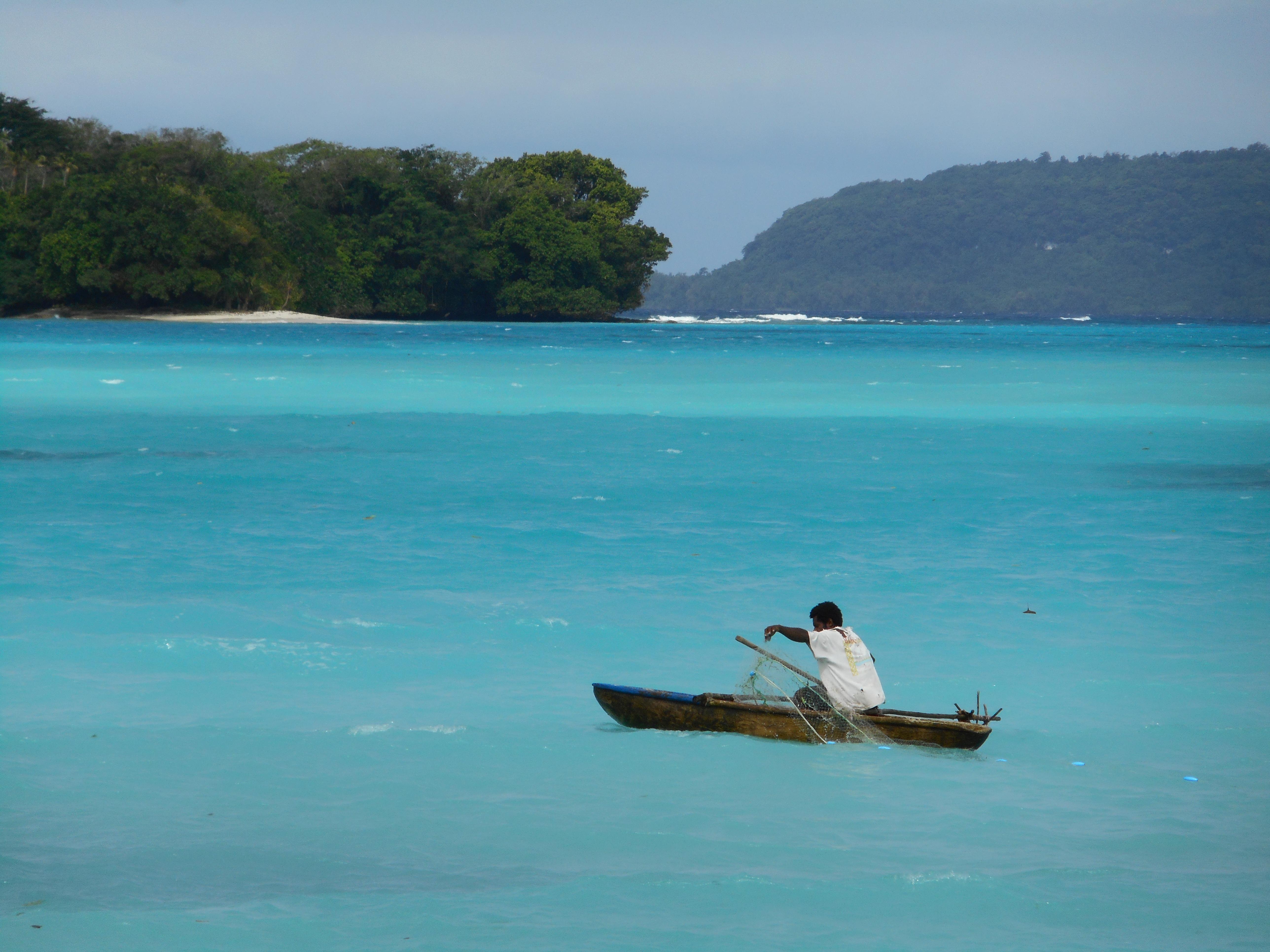 Fishing in Santo Port Olry
