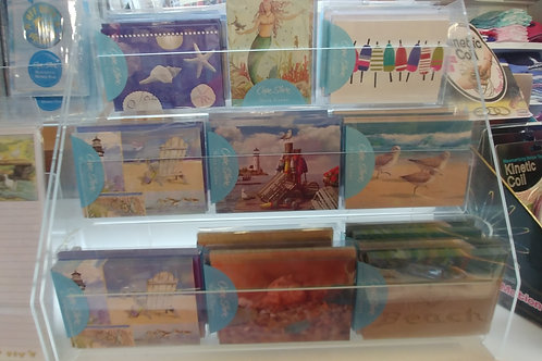 Sea Themed Blank Note Card 10 pack.