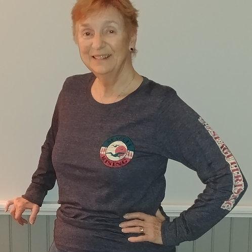 Ladies Cut Seagull Rising Long Sleeve T- Shirt