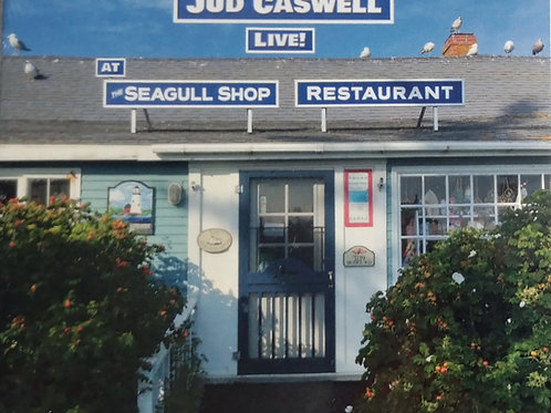 """Jud Caswell """"Live at the Seagull"""" CD - shipping included  in price"""