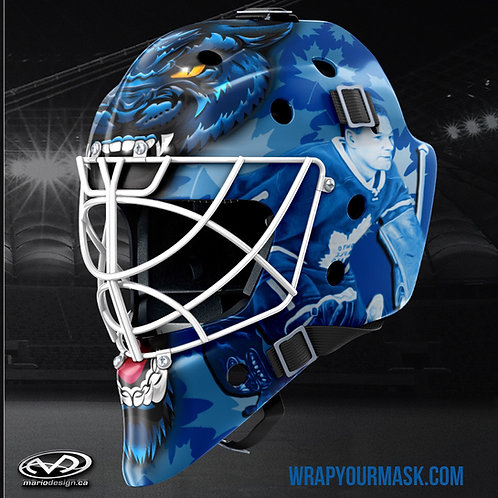 Custom Goalie Mask Wrap