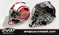 Goalie Mask Wraps