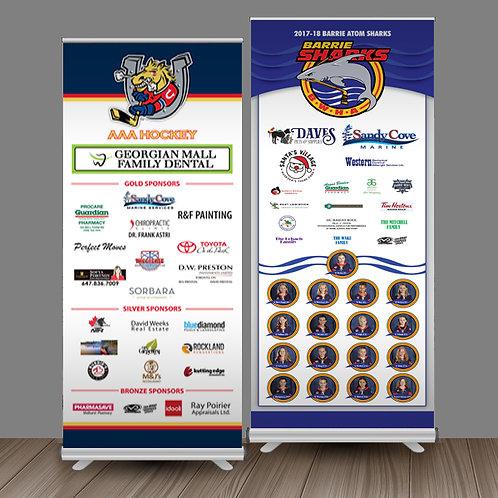 Team Sponsor Banner