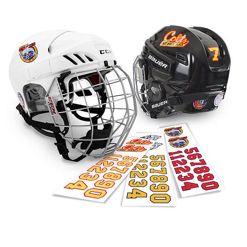Helmet Logo and # Kits