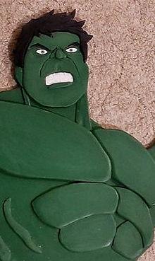Hulk aus Holz