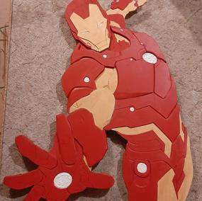 Iron Man aus Holz