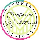 Andrea Freelance Marketing Logo